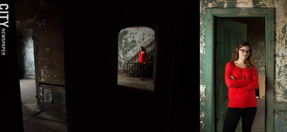 Caitlin Meives - PHOTO BY JOHN SCHLIA