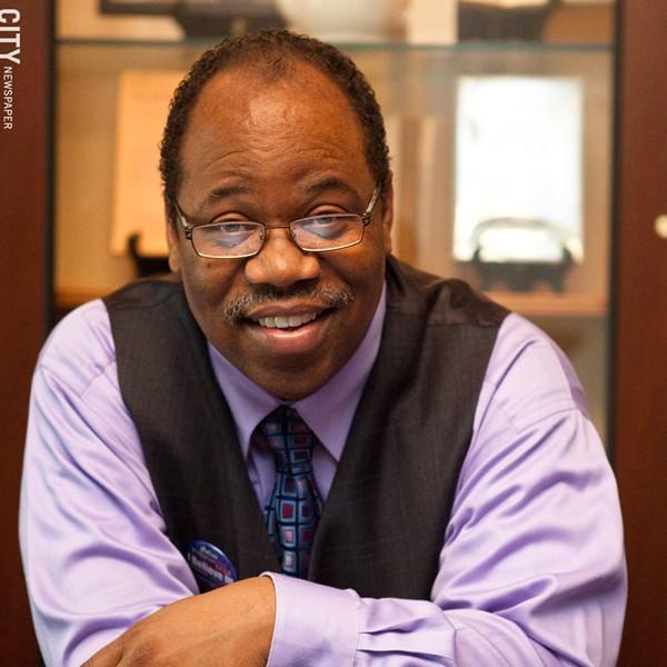 Van White, president of the Rochester school board. - FILE PHOTO