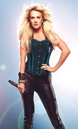 PHOTO PROVIDED - Carrie Underwood performs August 27, 7:30 p.m., at the NY State Fair.