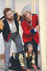 "PHOTO PROVIDED - Cast members in the Shakespeare Players' July 2013 production of ""Twelfth Night."" The company will present ""A Midsummer Night's Dream"" at Highland Park the first two weeks of July."
