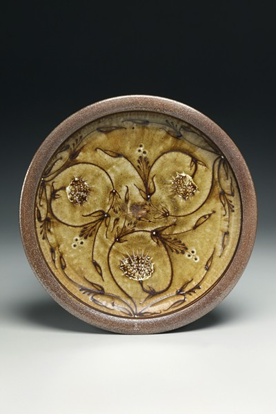 """Ceramic work by Alexander Matisse, like his piece """"Charger,"""" is currently on display at the Memorial Art Gallery, alongside works by his great-grandfather, Henri Matisse. - PHOTO PROVIDED"""