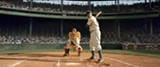 "PHOTO COURTESY LEGENDARY PICTURES - Chadwick Boseman as Jackie Robinson in ""42."""
