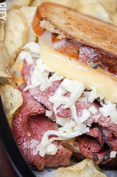 Cherise sandwich - PHOTO BY MARK CHAMBERLIN