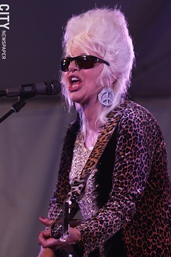 Christine Ohlman performed at Abilene. - PHOTO BY FRANK DE BLASE