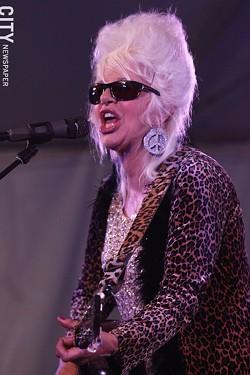Christine Ohlman performed at Abilene. - PHOTO BY FRANK DE BLASE