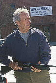 """Clint Eastwood maintains his on-screen appeal in """"Blood     Work."""""""