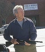 "WARNER BROTHERS PICTURES - Clint Eastwood maintains his on-screen appeal in ""Blood - Work."""