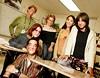 Clockwise from front: Joe Giro; Marirose Dempsey; Lea Theuer; Chelsea Bajek; Elyse Gauthier; Julia Eddy.