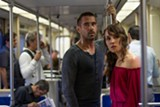 "PHOTO COURTESY IM GLOBAL - Colin Farrell and Noomi Rapace in ""Dead Man Down."""