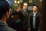 "PHOTO COURTESY TWENTIETH CENTURY FOX - Colin Firth and Taron Egerton in ""Kingsman: - The Secret Service."""