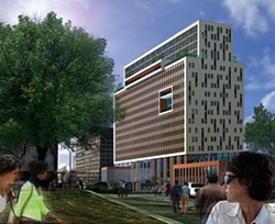 A vision of the redeveloped Midtown tower. - PROVIDED IMAGE