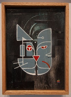 """Comparetto's series """"Meow Haus"""" is currently on display at 1975 Gallery - PHOTO PROVIDED"""