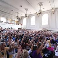 Jazz Fest Retrospective Crowd at Harro East Ballroom