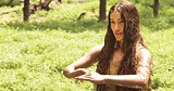 NEW LINE CINEMA - Dancing in the fields for what seems like hours: Q'orianka Kilcher.