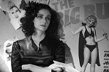 """UNIVERSAL PICTURES - Delicate flower: Mia Kirshner - stars as the doomed would-be starlet in """"The Black Dahlia."""""""