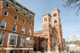 PHOTO BY MARK CHAMBERLIN - Downtown United Presbyterian Church.