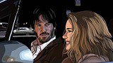 "WARNER INDEPENDENT PICTURES - Drawn together: Keanu Reeves and Winona - Ryder get the rotoscope treatment in Richard Linklater's ""A Scanner Darkly."""