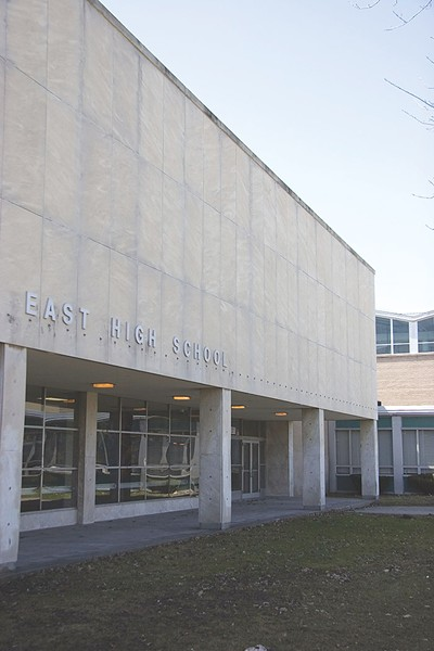 Changes looming for East High School. - FILE PHOTO