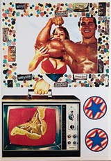 PHOTO PROVIDED - Eduardo Paolozzi's pop art will show at the Memorial Art Gallery this winter.
