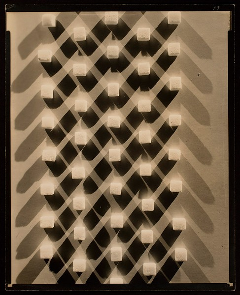 "Edward Steichen, ""Fabric design for Stehli Silk No. 28 (sugar cubes)"""