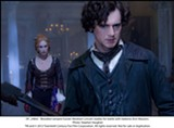 "Erin Wasson and Benjamin Walker in ""Abraham Lincoln: Vampire Hunter."" PHOTO COURTESY 20TH CENTURY FOX"