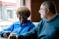 Eunice and Jim Eckberg spend much of their time on community outreach efforts to increase awareness about mental illness. - PHOTO BY MARK CHAMBERLIN