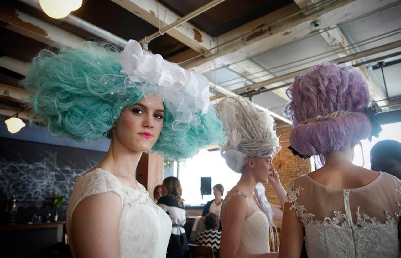 Peppermint Sewn Seeds Fashion Show