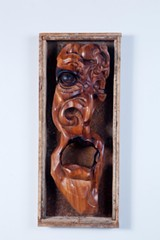 """""""Firebreather"""" which is made of mahogany and steel. - PHOTO COURTESY HANNAH BETTS"""