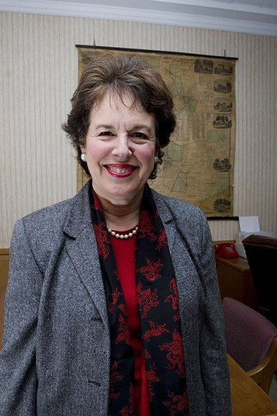Former Brighton Supervisor Sandra Frankel will announce her bid for county executive Wednesday. - FILE PHOTO
