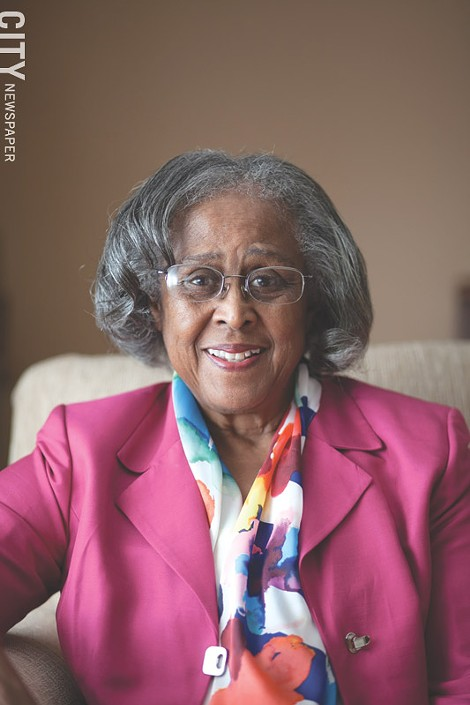 Former City Council president Ruth Scott - FILE PHOTO