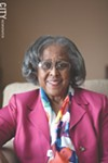 Former City Council president Ruth Scott