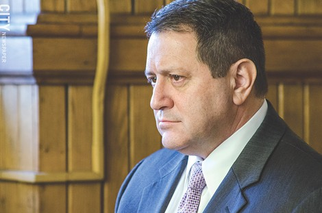 Former Democratic Committee chair Joe Morelle. - PHOTO BY MARK CHAMBERLIN