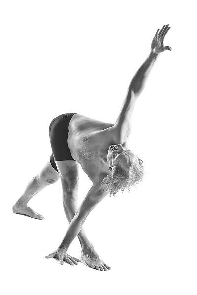 Francois Raoult of Open Sky Yoga. - PHOTO BY JOHN MYERS