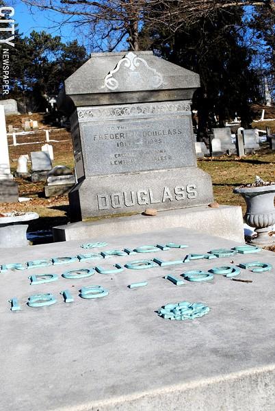 Frederick Douglass' grave. - FILE PHOTO