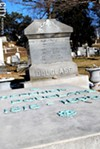 Frederick Douglass' grave.