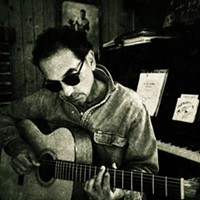 MUSIC: The Sundry Tales of Festus Feely FREE SHOW! Rochester's Mark Costello performs a one-man folk show reflecting on his nomadic character's life. (Thursday 9/19 6:30 p.m., Saturday 9/21 6:30 p.m., Saturday 9/28 noon at Java's Cafe. Free.) PHOTO PROVIDED