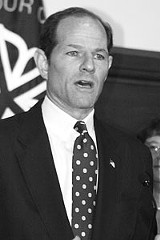 FILE PHOTO - Frontrunner Eliot Spitzer