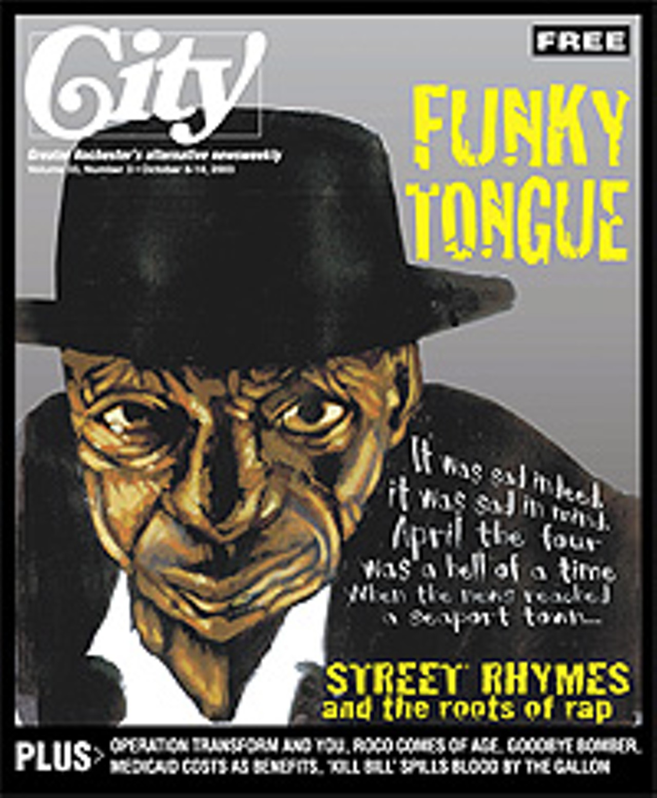Funky tongue | Featured story | Rochester City Newspaper