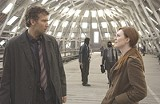 "UNIVERSAL PICTURES - Future shock: Clive Owen and Julianne Moore in ""Children of Men."""