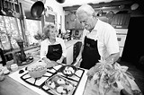 PHOTO BY GARY VENTURA - Get some recipes, some instruction, some good food, and better banter with Dick and Ginger Howell.