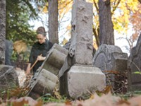 Good souls: Cemetery care often falls to volunteers