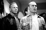 """NEW LINE CINEMA - Good sports: Ian Zierling and Brian - Austin Green as themselves in """"Domino."""""""