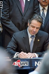 FILE PHOTO - Governor Andrew Cuomo didn't get the IDA reforms he wanted in the 2013 to 2014 budget.