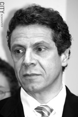 FILE PHOTO - Governor Andrew Cuomo unveiled a comprehensive gun law package on Monday night. It includes a tougher assault weapons ban.