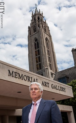 Grant Holcomb (pictured) has served as director of the Memorial Art Gallery for nearly 30 years, beginning in 1985. Holcomb will officially retire in the early fall when Jonathan Binstock officially begins his tenure. - PHOTO BY JOHN SCHLIA