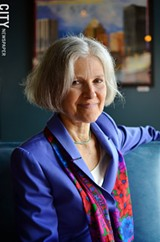PHOTO BY MATT DETURCK - Green Party presidential candidate Jill Stein.