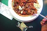 Gumbo from Beale Street Café. - PHOTO BY MATT DETURCK