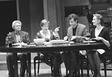 PHOTO BY KEN HUTH - Guy Bannerman, Peggy Cosgrave, Remi Sandri, and Megan Byrne in That Was Then.