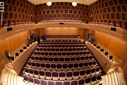 Hatch Recital Hall at the Eastman School of Music. - FILE PHOTO