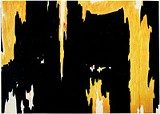 PAINTING BY CLYFFORD STILL - He paints the landscape of his mind: Clyfford Stills 1957-D No. 1.